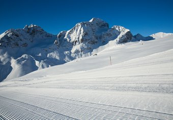 White Carpet at Corviglia: be the first skier!